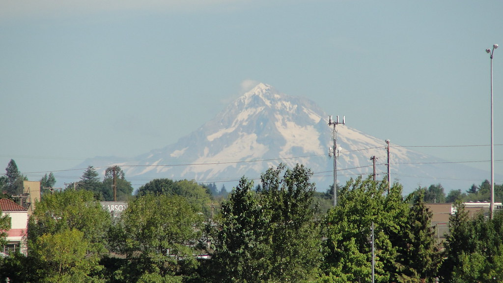 Mt Hood from Waterfront Park