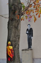 Tona ( with Leo & Pipo et Zokatos) : trees art without borders