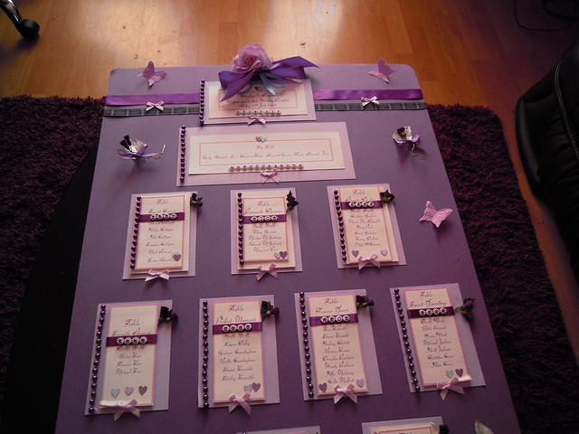 Wedding Seating Plan THIS IS THE WEDDING SEATING PLANNER I MADE FOR MY