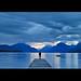 azure - lake mcdonald, glacier national park by v_ac_md