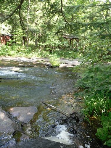 newyork creek river waterfall stream upstate adirondacks rapids 071210