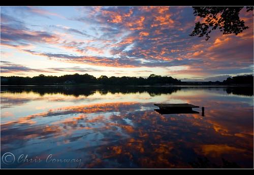 carrmill carrmilldam morning sunrise dawn reflections water landscape am goodlight