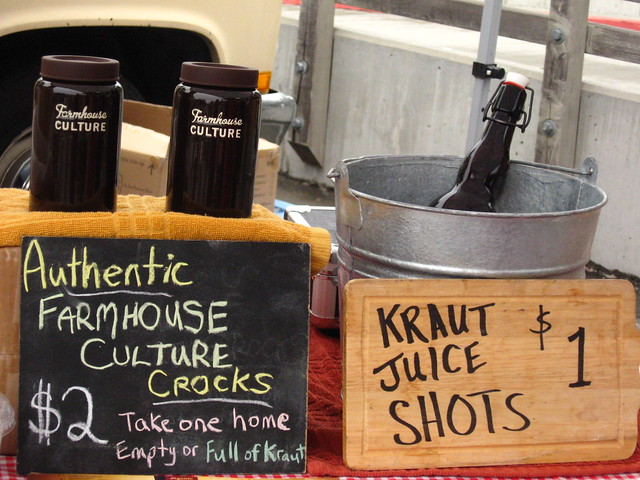 Kraut Juice Shots
