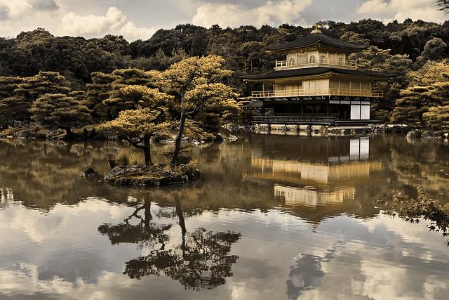 Kinkaku-ji (金閣寺) - Pabellón Dorado