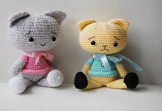 Spanky the Cat - Amigurumi Pattern Flickr - Photo Sharing!