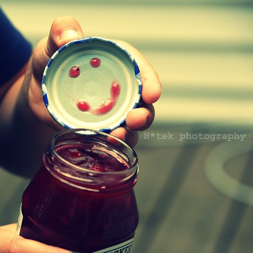 a jelly jar of smiles
