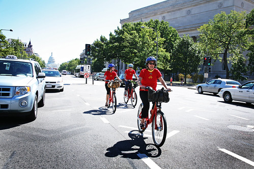Capital Bikeshare Inaugural Ride