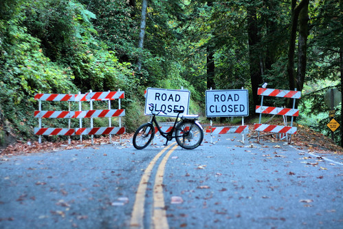 Thumbnail for Close Santa Cruz Highway 9 for cyclists only?