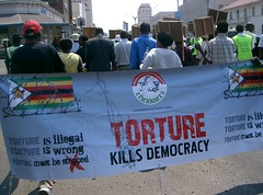 Bulawayo groups peacefully march in solidarity with victims of violence
