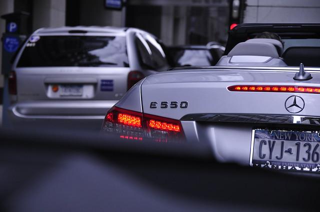 MB E550 Cabriolet
