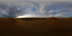 Sunrise in the Thar Desert