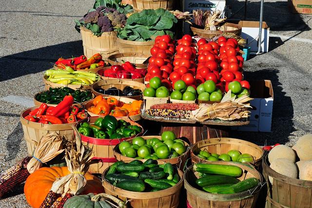 Grønnsaker. Foto: Macomb Paynes / Flickr