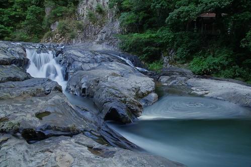 water japan landscape scenery rocks slow pentax views shutter 1750 shimane 渓谷 k7 kawamoto a16 dangyokei 断魚渓 邑南町 川本町 ohnan