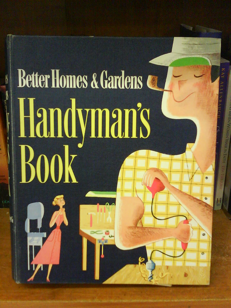 handyman's book   found in an unremembered thrift store on m