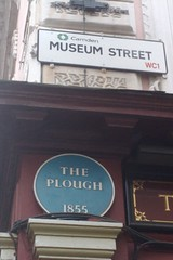 Photo of The Plough, Camden blue plaque