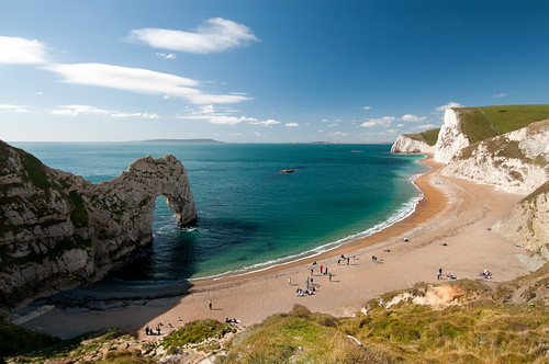 Durdle Door - Looking Westwards