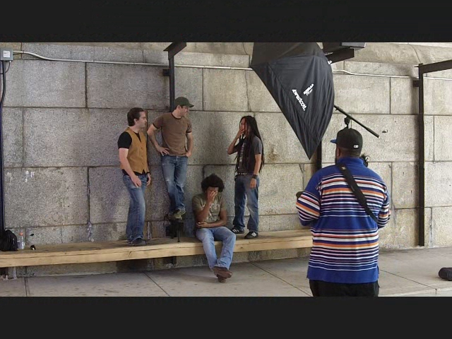 Behind the Scenes Stereoboro Shoot