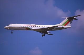 138ar - Republic of Bulgaria Tupolev 134A-3; LZ-TUG@SVO;15.07.2001