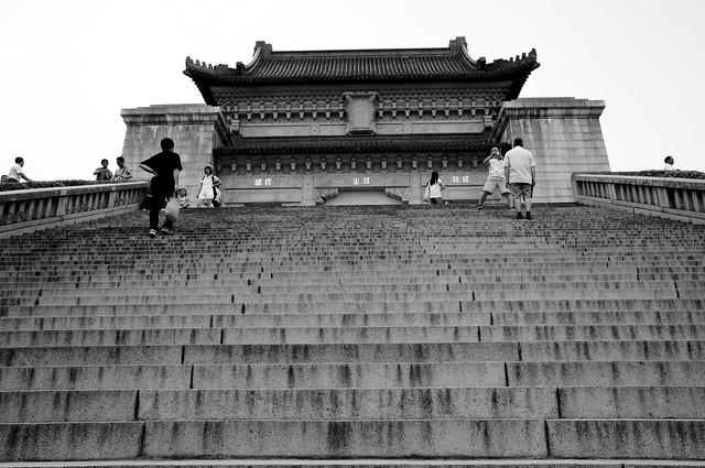 Memorial Hall in Black & White