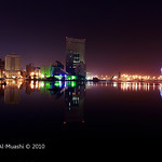 Reflection of Jeddah Al-balad Lake