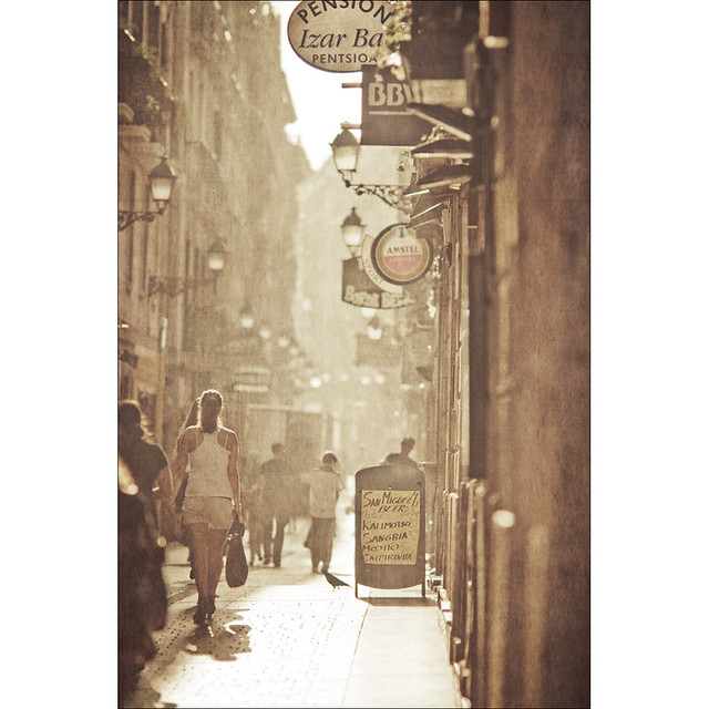 San Sebastian - The alley