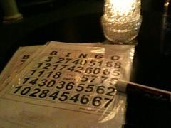 Am I at a gay bar by myself playing bingo? YES I AM.