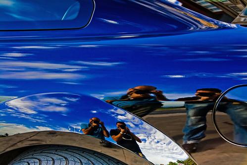 Reflejos en Mustang