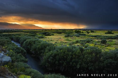 california storm sunrise landscape bishop hdr photomatix 5xp jamesneeley exposurefusion