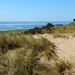 Magnificent panoramic view from dune's top of Vlieland