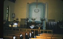 Interior of the Mallala Methodist Church