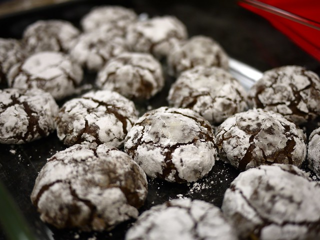 mint chocolate cloud cookies | Flickr - Photo Sharing!