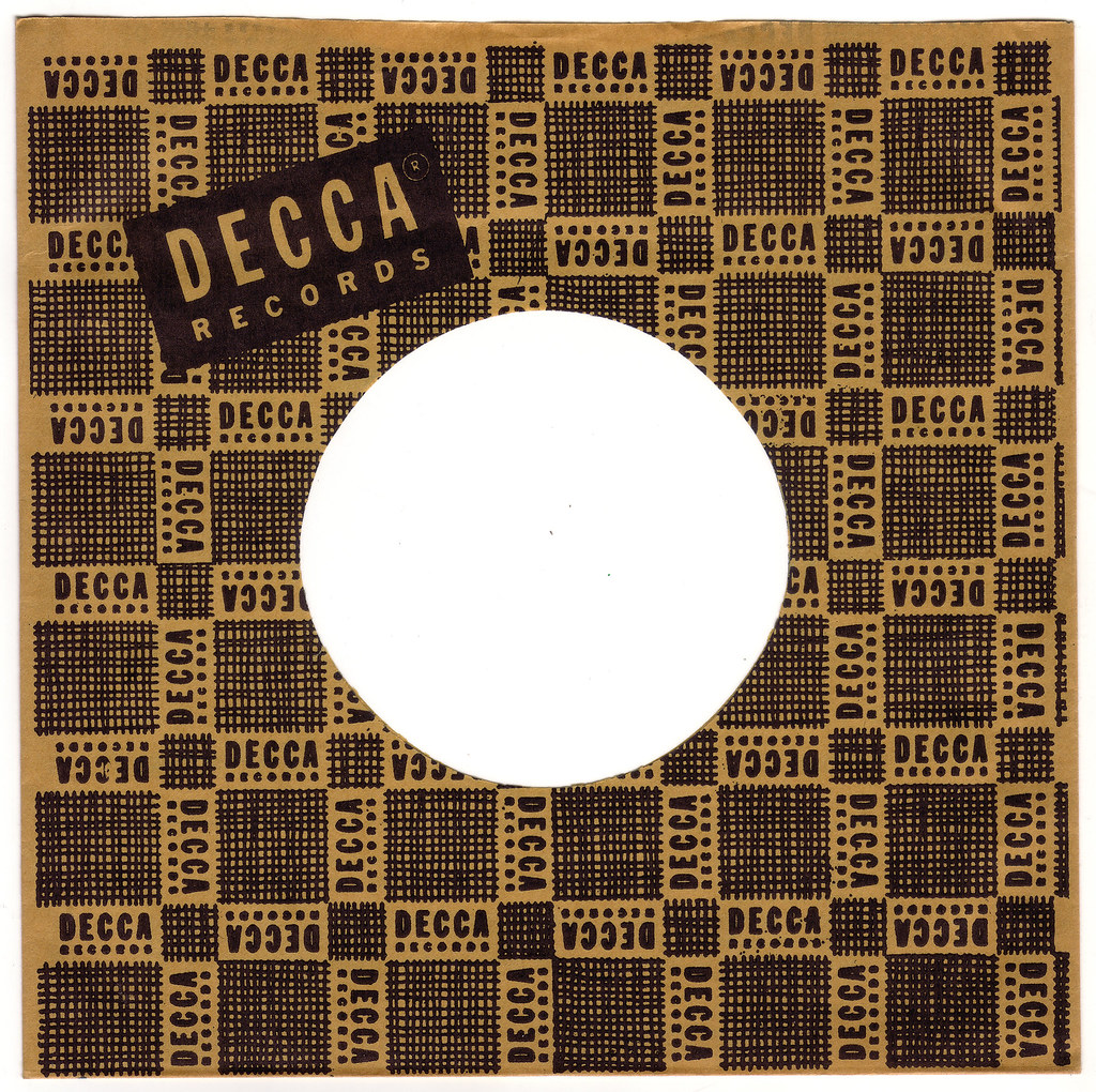 Blog Around Clock >> 1950s DECCA RECORDS 45 RPM Record Sleeve | Founded in Britai… | Flickr - Photo Sharing!