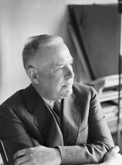 Wallace Stevens, 1954, the face of a reluctant visionary genius a year before his death