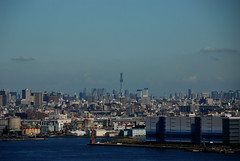 横浜から見た東京スカイツリー:View from Yokohama