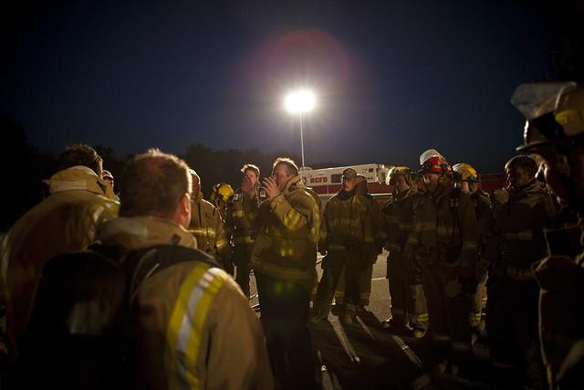 Natural Gas Training Burn