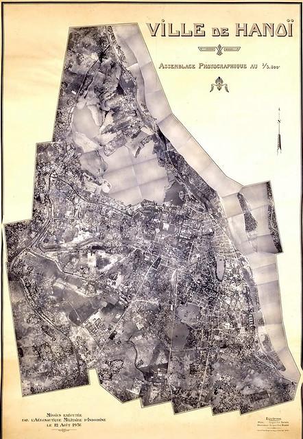 Không ảnh Hà Nội năm 1936