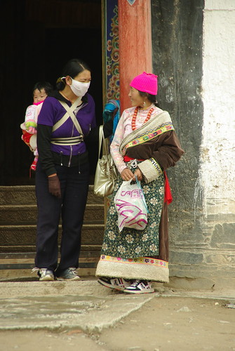 Women and Child at Labrang Monastery