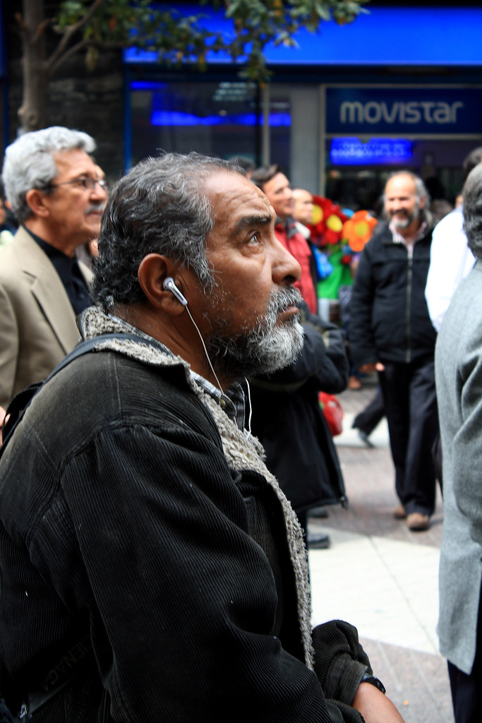 Resgate dos Mineiros do Chile - Paseo Ahumada