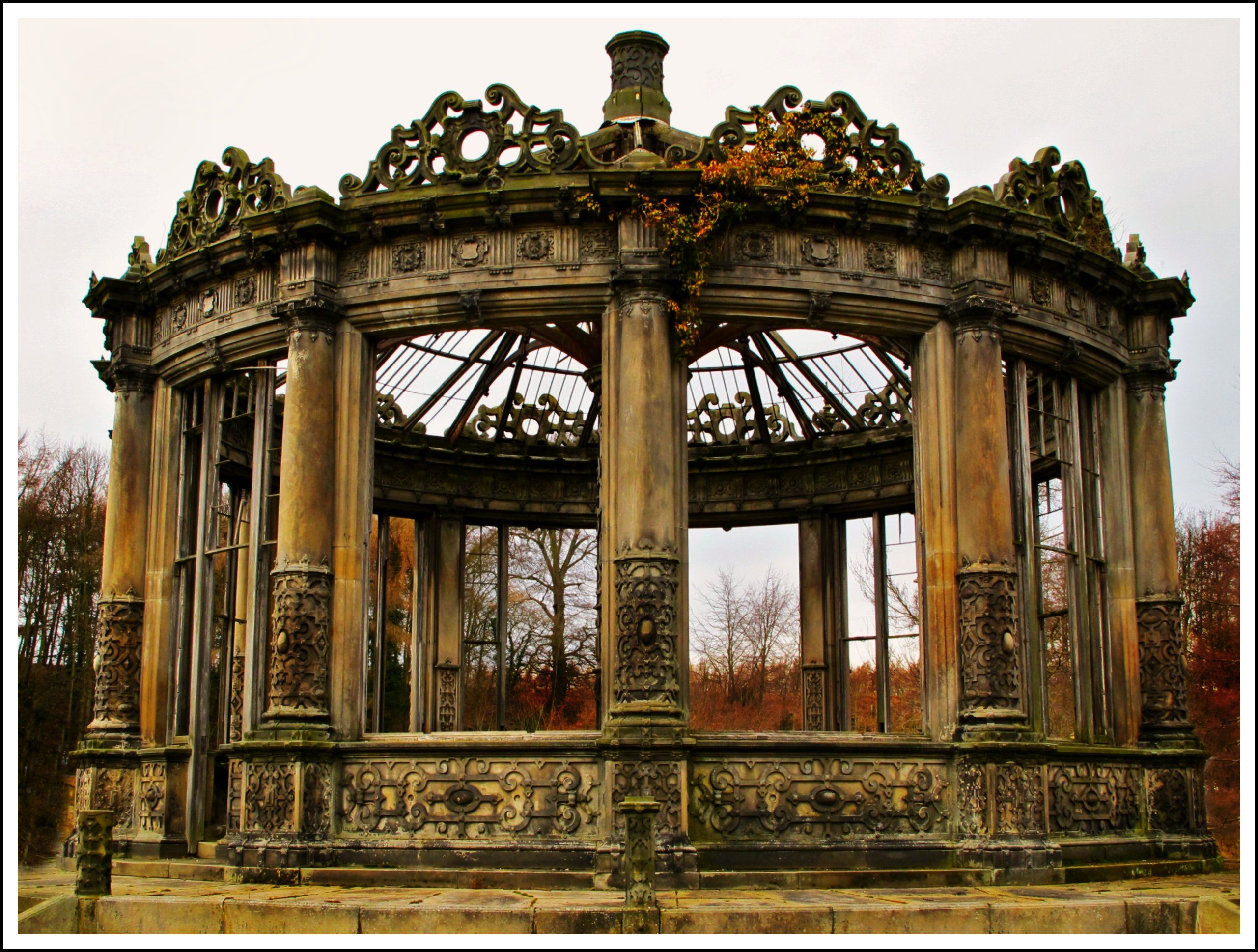 The conservatory that time forgot....the Orangery in Edinburgh, Scotland. [OS] [2561 × 1938].