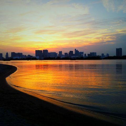 sunset iphone4