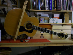 acoustic guitar repairs guild jf55 12 string graham parker luthier. Black Bedroom Furniture Sets. Home Design Ideas