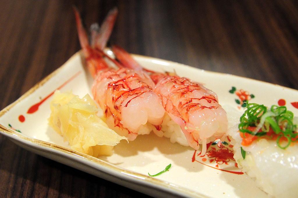 竹壽司-胭脂蝦握壽司