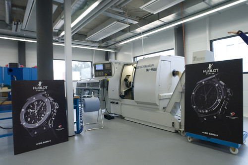 Computerized CNC machining module.