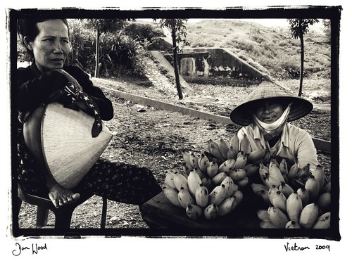 Banana seller,Vietnam
