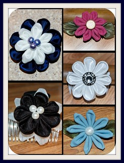 Kanzashi bloom collection