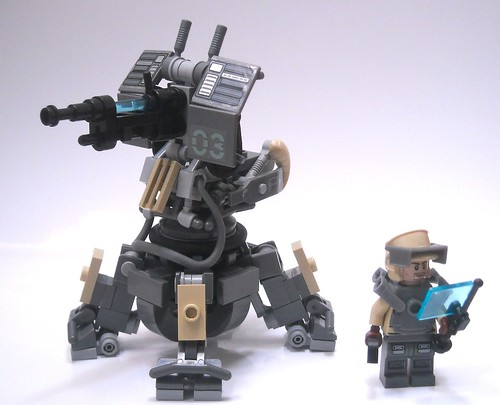 """Dog walker""Turret and engineer"