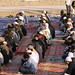 Hundreds of Muslims gather at Kandahar Airfield for Eid al-Adha