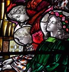 Ashbourne, Derbyshire - St Oswald's Church - Stained Glass by Christopher Whall