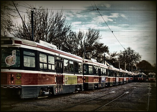 Connaught Streetcar Yard