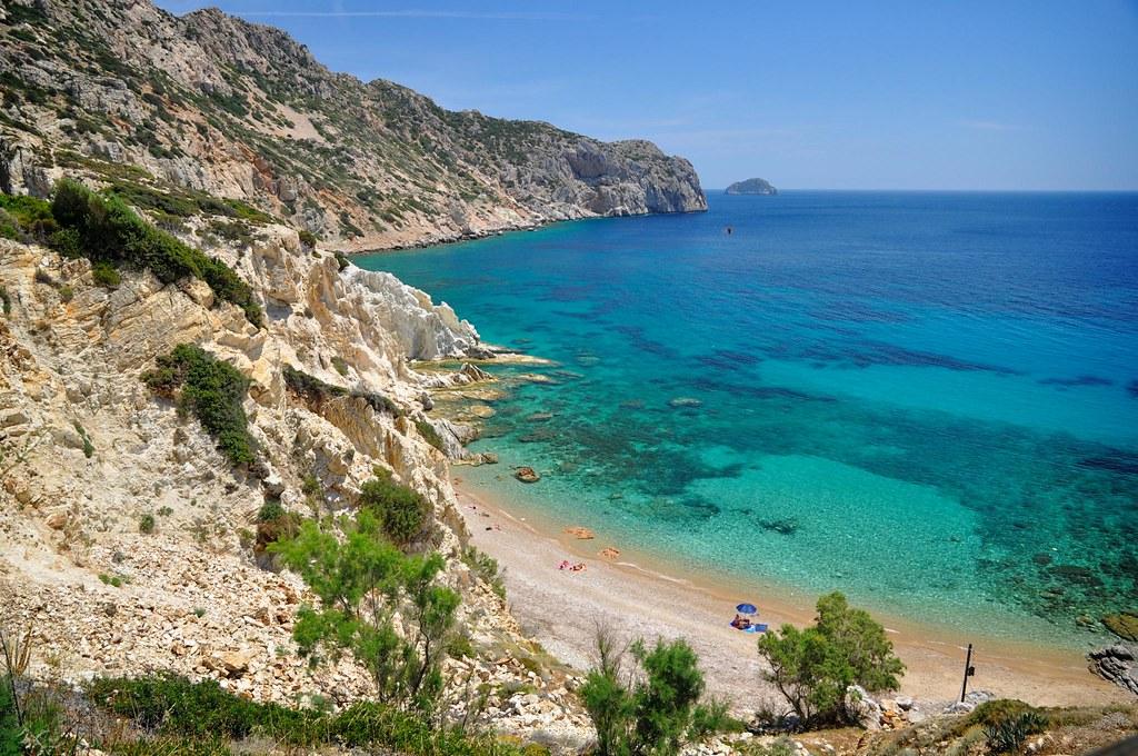 Пляж Врулидия греция